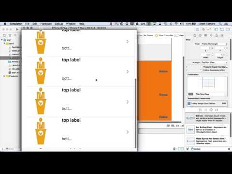 Learn To Build Your First Professional iOS App - Adding Buttons