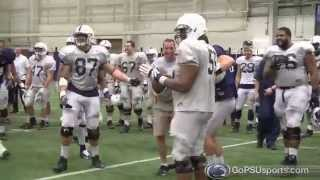 Spring Practice Punt Catch Competition
