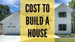THE REAL COST TO BUILD YOUR HOME | Custom Home | Building a house Cost