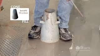 ACI Slump Test: ASTM C143 Concrete Slump 2019