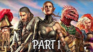 Divinity Original Sin 2 Co-Op Walkthrough Part 1 - THE RED PRINCE | Xbox One Gameplay