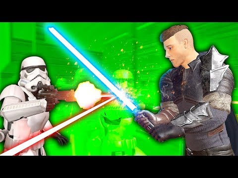 STORMTROOPER ARMY AGAINST LIGHTSABER - Blades and Sorcery VR Mods (Star Wars)