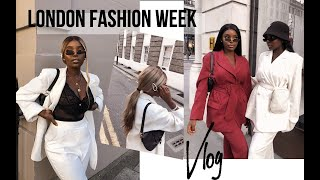 London Fashion Week VLOG - Our First Time