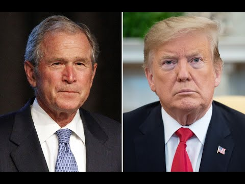 Trump Now Hated As Much As George W. Bush Was