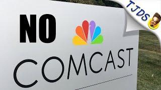 City Rejects Comcast! Builds Municipal Fiber Instead