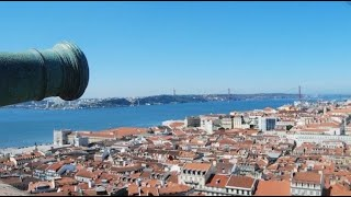 preview picture of video 'Lisboa vista do Castelo de São Jorge'
