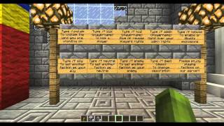 Minecraft Server Tour! factions, Creative Plots and Paintball!