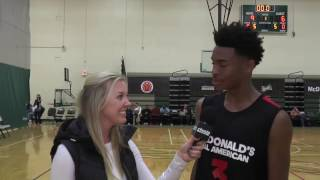 UCLA Commit Jaylen Hands Interview from McDonald's All-American Game