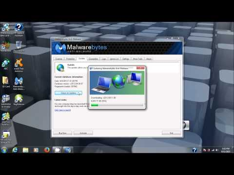 Malwarebytes Anti-Malware tutorial