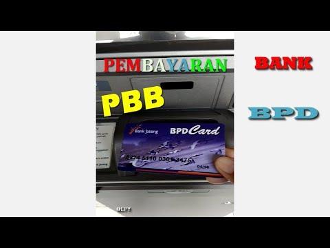 TUTORIAL - Cara Membayar PBB/SPPT Online di ATM Bank BPD