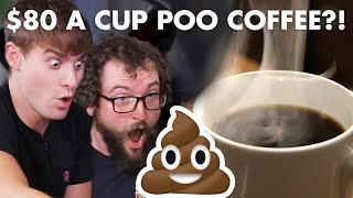 World's Most Expensive Coffee Vs. Cheapest Instant Coffee TASTE TEST!!