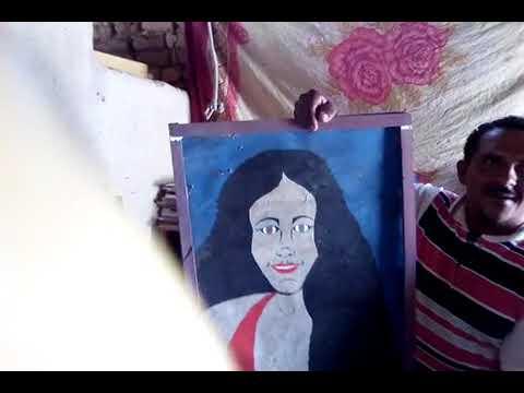 Um mudo que desenhar muito bem de Alegrete do Piauí do interior de malhada Alta