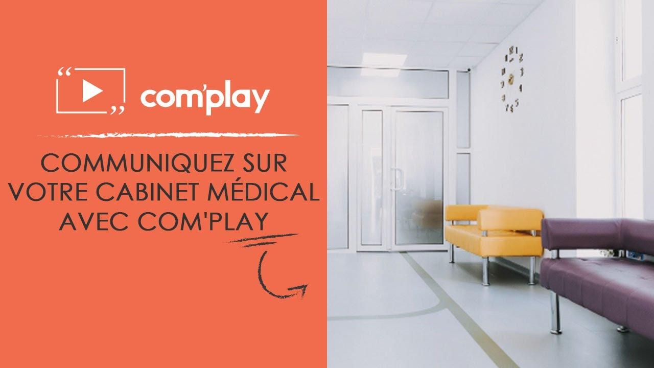 Image YouTube L'affichage dynamique pour communiquer dans votre cabinet médical