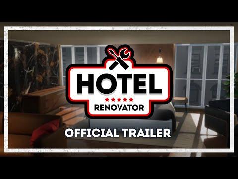 《Hotel Renovator》改造酒店模擬遊戲