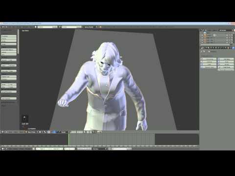 Blender 2.68 Tutorial - Make a Cloak with Cloth Simulation