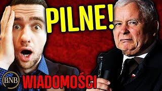 BNB: Z ostatniej chwili! Kaczyński G̾R̾O̾Z̾I̾ ̾W̾O̾J̾N̾Ą̾ z Rosją