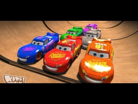 Disney Pixar Cars  Lightning McQueen And Friends Game For Kids Songs For Children