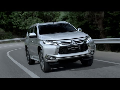 All New Pajero Sport : Blind Spot Warning and Multi Around Monitor
