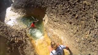 preview picture of video 'Barranco de Siaskas con niños en Luesia - Cinco Villas - Prepirineo'
