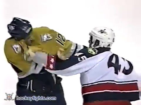 Jody Shelley vs Reid Simpson