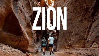 "Camping at Zion National Park and ""The Narrows"""