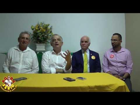 Vice - Governador Marcio França responde a Pergunta do Repórter Favela na Coletiva de Imprensa