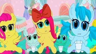 Брат Флаттершай. Карманная пони.Мультик игра для детей. My little pony. дружба это чудо