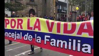 MARCHA POR LA VIDA MAYO-2016 / Bogotá - Colombia