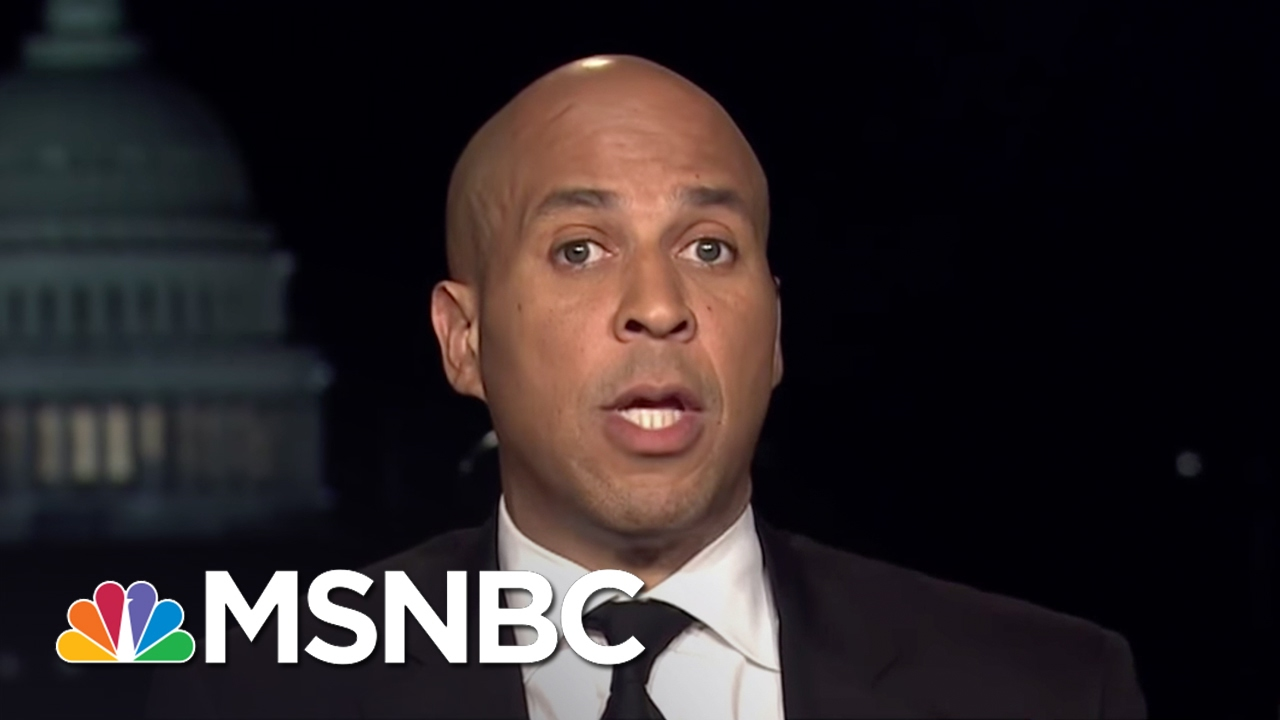 Cory Booker: What's Happening Is Worthy Of Outrage | Rachel Maddow | MSNBC thumbnail