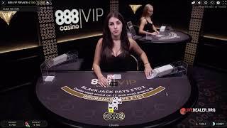 888 VIP Private Live Blackjack