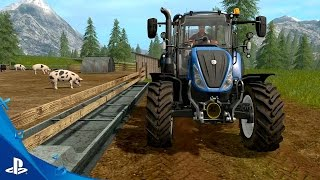 "Farming Simulator 17 - ""Tending to Animals"" Gameplay Trailer #2 | PS4"