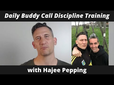 Daily Buddy Call Discipline Training | Hajee Pepping - YouTube