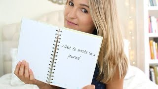 What To Write In A Journal (PART 1)