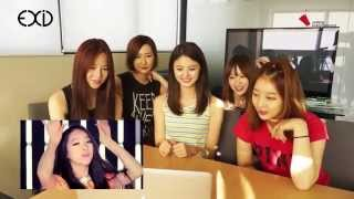 EXID video reaction to EXID's MV (I Feel Good&Every Night)