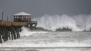 Hurricane Florence hits North Carolina coast