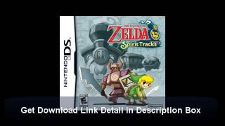 How to Download The Legend of Zelda Spirit Tracks NDS Game ROM Free