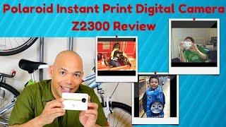 Polaroid Instant Print Digital Camera Z2300 Review 2016