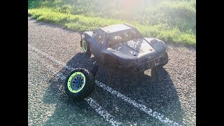 Why you need a KILL SWITCH: losi 5ive t CRASH