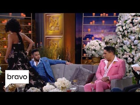 Golnesa Gharachedaghi Storms Off The Reunion Set | Shahs of Sunset: Season 7, Episode 14 | Bravo
