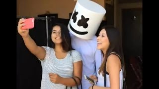 Marshmello With Fans