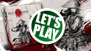 Let's Play: Test Of Honour - The Samurai Miniatures Game