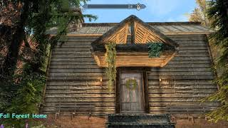 Fall Forest Home - Skyrim Special Edition House Mod