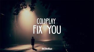 Coldplay - Fix You (Lyrics) [Lauv Cover]
