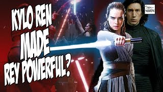 Kylo Ren MADE Rey Powerful | Theory CONFIRMED in The Last Jedi Novelization | REYLO