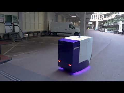 Delivery Robot Prototype v0 2