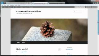 TUTORIAL DE WORDPRESS - COMO CREAR UNA PAGINA WEB O BLOG PARTE 1