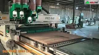 MÁY CNC ROUTER NESTING 4 Trục Holztek ( Máy Cắt Ván Công nghiệp cnc )