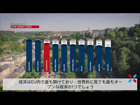 A quick introduction to Luxembourg - Japanese subtitles