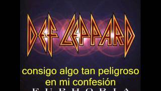 DEF LEPPARD - I'm your child traducida (Esp)