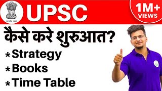 कैसे करे तैयारी I Strategy for UPSC CSE 2019 | Books, Time Table | Everything You Should Know